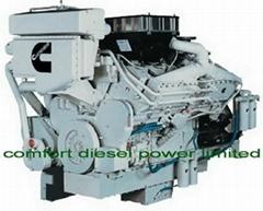 Cummins KT38-M marine engine