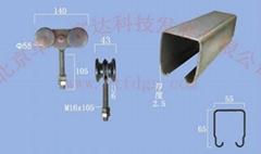 工业门吊轮吊轨450A型