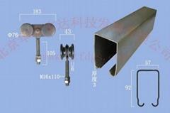工业门吊轮吊轨750型
