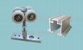 重型折疊門滑輪滑軌 1