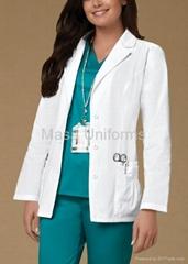 H002 女式实验室外套