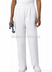 H1001 白色医护裤