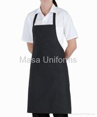 條紋廚師圍裙