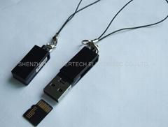 转头式MICRO-SD 读卡器