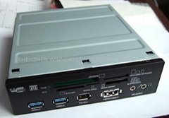 "wt-525-CR1, 5.25"" internal card reader"