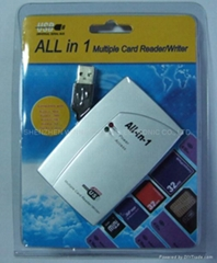 USB2.0 ALL 合1 读卡器