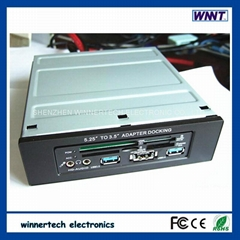 hot selling wt-525-CR2 5.25 inch pc bay docking