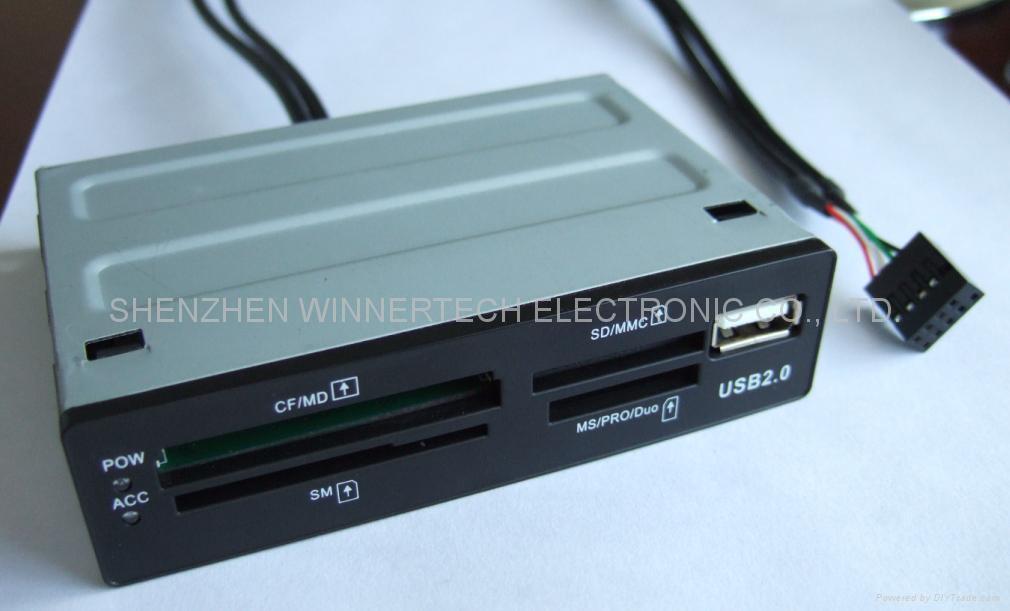 "3.5"" bay internal card reader, classic 1"