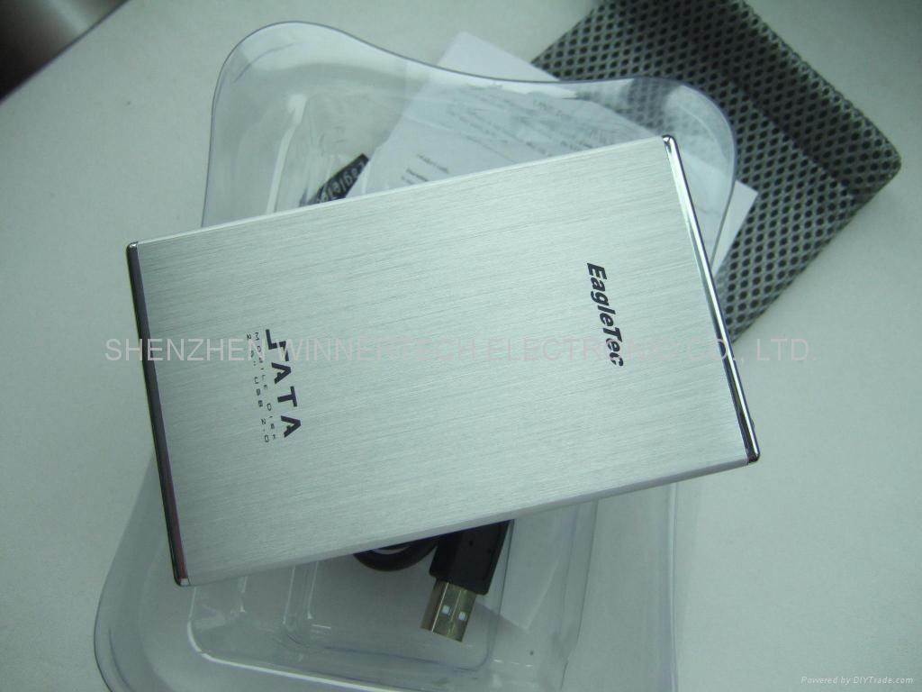 """2.5"""" USB2.0 to SATA hard disk enclosure"""