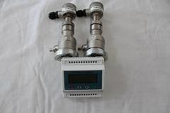 大连海峰双声道固定式插入式超声波流量计