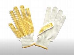 knit string glove