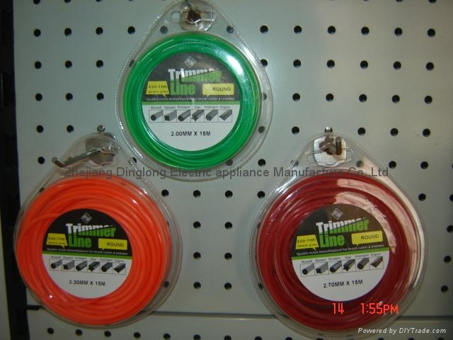 Trimmer line with blister package 2
