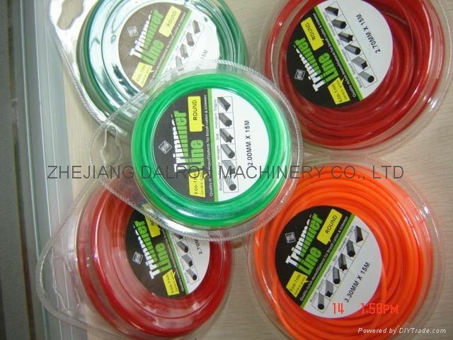 Trimmer line with blister package 3
