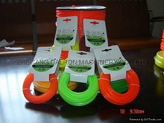 Grass nylon line with card head package