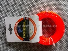 trimmer line,red,3.0mm*15m in headcard package