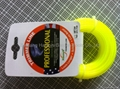 trimmer line,2.4mm*15m,yellow in