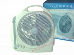 10 inches/charging fan/emergency fan/take desk lamp fan outdoor fan