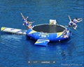 inflatable water trampoline/ inflatable water bouncer / water jumper  1
