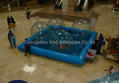 inflatable water pool /