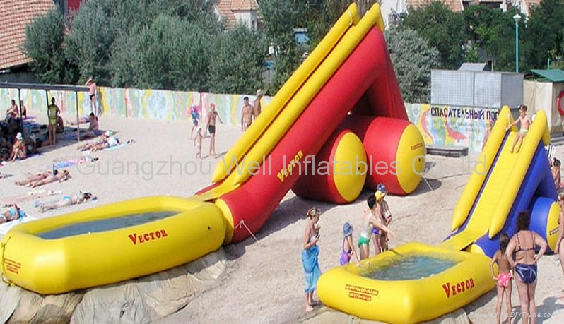 giant inflatable water slide for kids and adults - China -