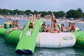 inflatable water trampoline/ inflatable water bouncer / water jumper  2