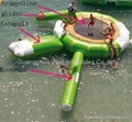 inflatable water trampoline/ inflatable water bouncer / water jumper  3