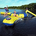 inflatable water trampoline/ inflatable water bouncer / water jumper  4