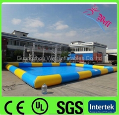 commercial inflatable pool for water balls / water ball pool