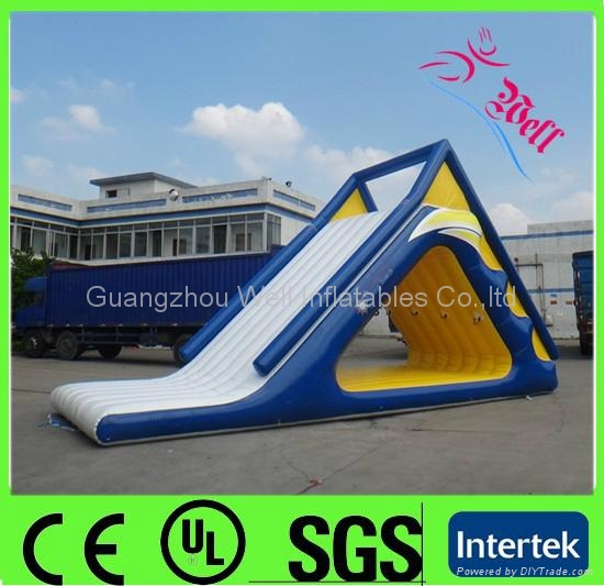 Inflatable Water Slide China: Giant Inflatable Water Slide For Kids And Adults