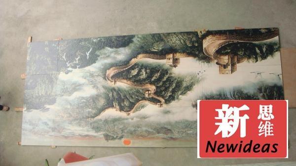廣東亞克力UV  平板打印機 5