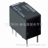 欧姆龙信号继电器G5V-1-5V/12V原装正品现货