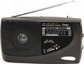 AC/DC多波段收音机