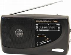 AC/DC多波段收音機
