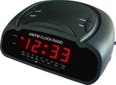 鐘控收音機