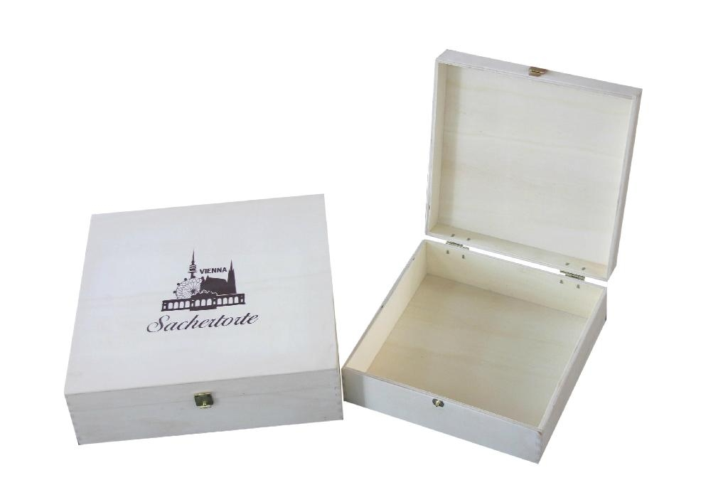 Chocolate Gift Wooden Boxes 1