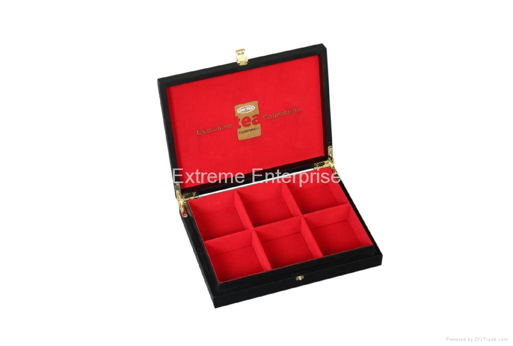 Luxury Customized Wooden Tea Gift Boxes Wooden Chest 1
