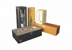 Variety of Wine Boxes