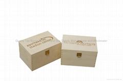 Wooden Tea Pocket