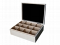 Customized Wooden Chest Natural Wood Tea Box  1