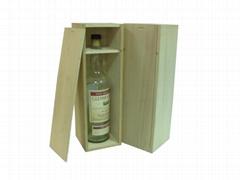 Unfinished Wine Box