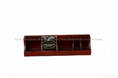 Stained Tea Display Wooden