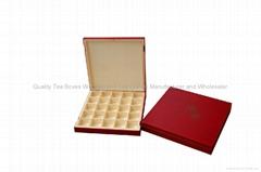 Elegant Chocolate Wood Gift Boxes