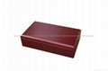 Rich Mahogany Handcrafted Tea Chest Wood 2