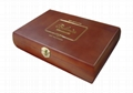 Rich Brown Wooden Chocolate Gift Box