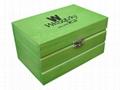 Small Wood Tea Gift Box Pocket 2