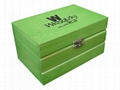 Small Wood Tea Gift Box Pocket
