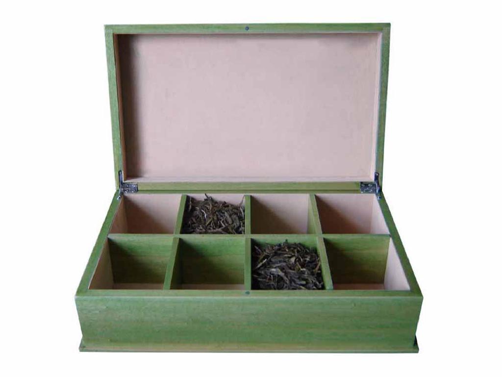 Wooden Tea Chest 1
