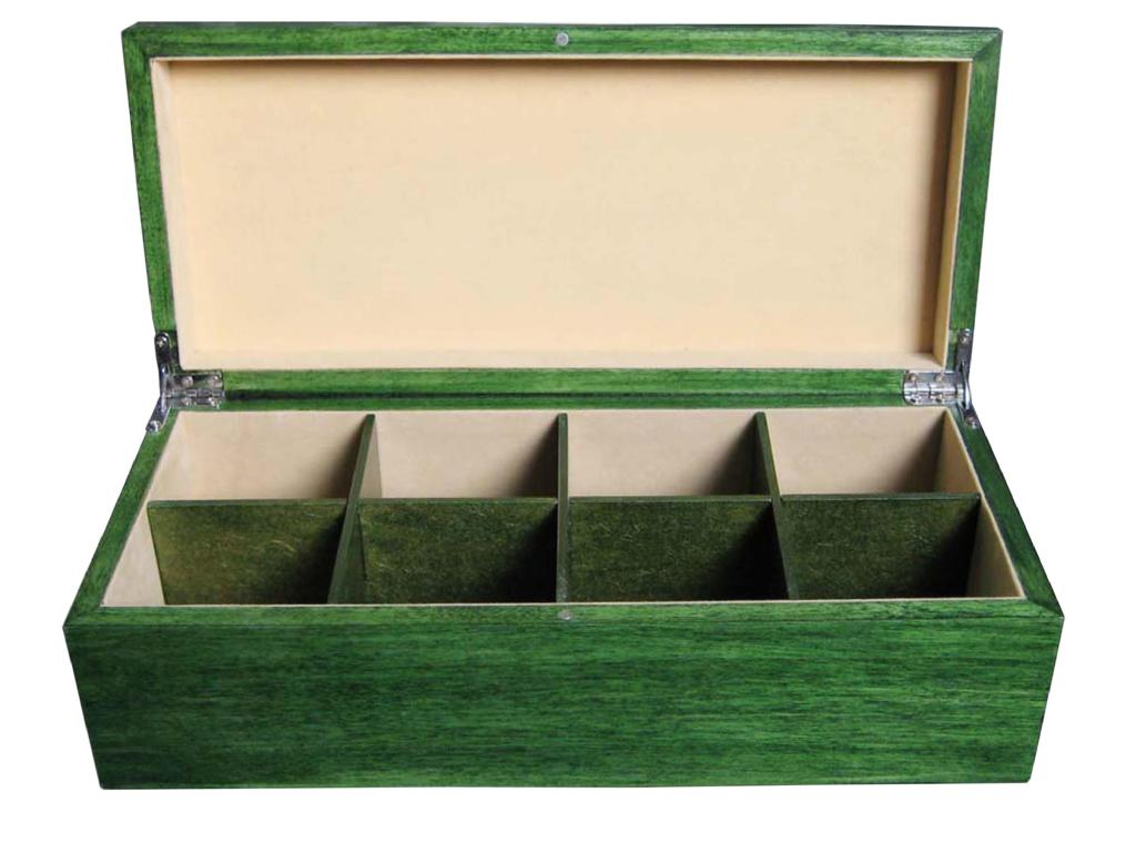 High Quality Wooden Tea Chest Compartment Tea Wood Box 1