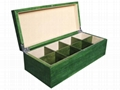 High Quality Wooden Tea Chest Compartment Tea Wood Box