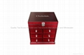 Rich Mahogany Finished Wooden Boxes with drawers for Chocolates 5